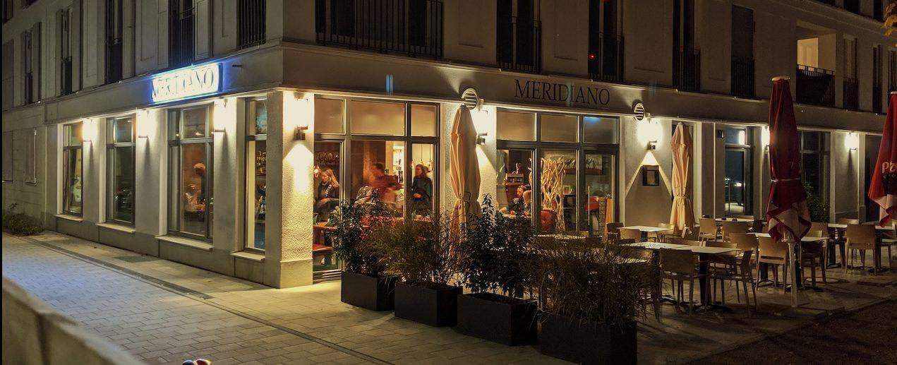 Restaurant Meridiano in Regensburg von außen